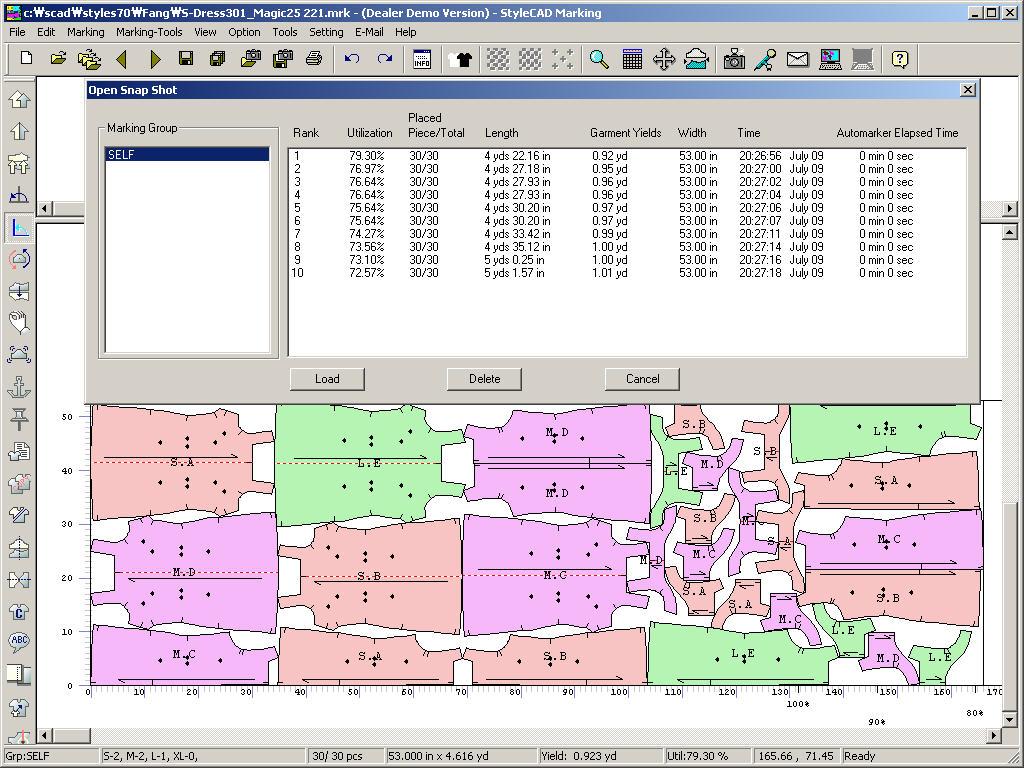 StyleCAD - Pattern Design, Grading & Marking System